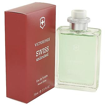 Swiss Unlimited Eau De Toilette Spray By Victorinox