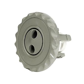 Waterway 224-1047B Mini Jet Eyeball Assembly - Gray