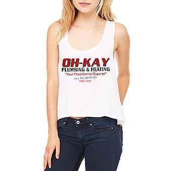 Home Alone Oh-Kay AKA Wet Bandits Women's White Flowy Boxy Tank
