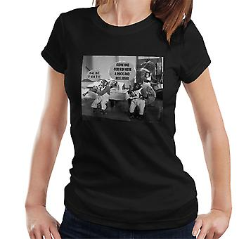 Bertrand Mills Chimpanzee Orchestra Band 1951 Women's T-Shirt