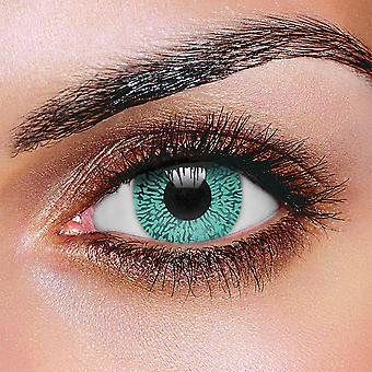 Aqua One Tone Contact Lenses (Pair)