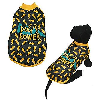 MI&DOG Abrigo Capa Felpado Dogs Power T-25 (Dogs , Dog Clothes , Coats and capes)