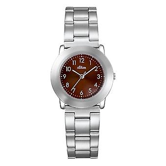 s.Oliver Damen-Armbanduhr Analog Quarz SO-15023-MQR