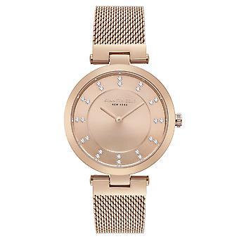 Kenneth Cole New York women's wrist watch analog quartz stainless steel KC50200001