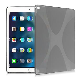 Protective cover silicone X-line series grey case cover for new Apple iPad 9.7 2017 bag