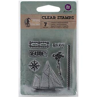 Seashore Clear Stamps 2.5