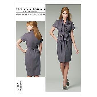 Misses' Dress and Belt-FF (16-18-20-22) -*SEWING PATTERN*