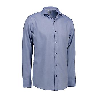 ID Mens Dobby Alonso Shirt Long Sleeve Slim Fit