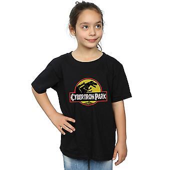 Poopsmoothie Mädchen Cybertron Park T-Shirt