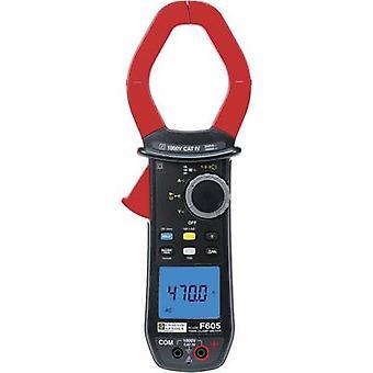 Chauvin Arnoux F605 pinza amperimétrica, mano Multímetro Digital calibrado: las normas del fabricante (no certificado) C