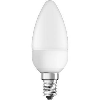 OSRAM LED E14 Candle 6 W = 40 W Warm white (Ø x L) 38 mm x 110 mm EEC: A+ 1 pc(s)