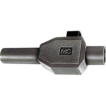 Stäubli SKLS4 Jack plug Plug, straight Pin diameter: 4 mm Black 1 pc(s)