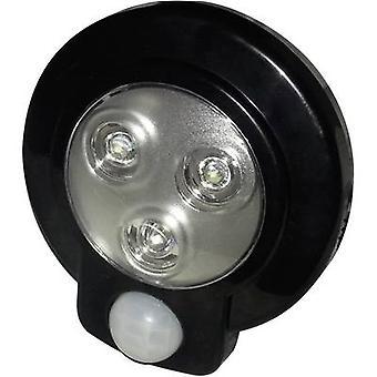 Müller Licht 57013 zócalo de LEDs (+ detector de movimiento) negro
