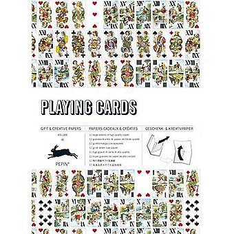 Playing Cards Ampli cadeau Creative Paper Book Vol. 65 par Pepin Van Roojen