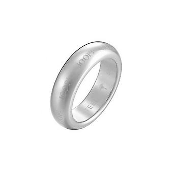 Joop unisex ring stainless steel Silver of LOGO SIGNATURE JPRG10612A