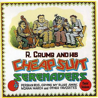 R. Crumb & His Cheap Suit Sere - Chasin' Rainbows [CD] USA import