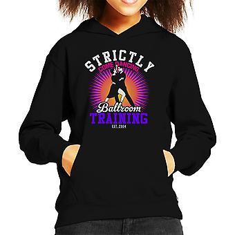 Strictly Come Dancing Ballroom Training Kid's Hooded Sweatshirt