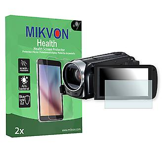 Canon Legria HF R48 Screen Protector - Mikvon Health (Retail Package with accessories)