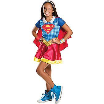Supergirl DC super hero girls costume for children kids costume original