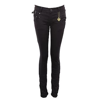 Damen Slim Fit dünn farbig besetzt Denim Damen Jeans