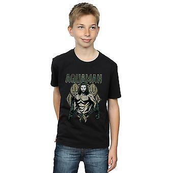 DC Comics Boys Aquaman Scales T-Shirt
