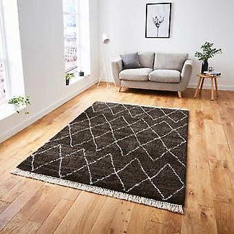 Rugs -Boho Brown/White - 8280