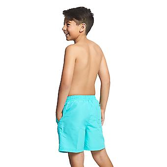 Zoggs Junior Boys Penrith Swimming Shorts Jade for 6-15 Years Children