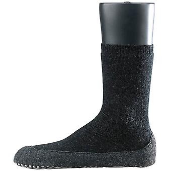 Falke Cosyshoe Midcalf Socks - Anthracite Grey