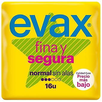 Evax Fine and SafeCompresses without Wings 16 uds