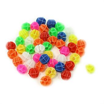 TRIXES Bicycle Spoke Beads Multicolour Approx. 72 Pack