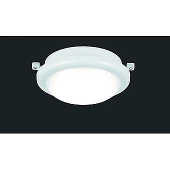 Trio Lighting Hamal Modern White Plastic Ceiling Lamp