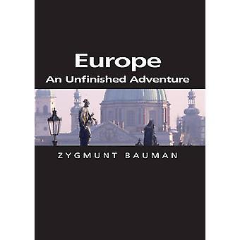 ヨーロッパ - ジグムントバウマン - 9780745634036 本で未完の冒険