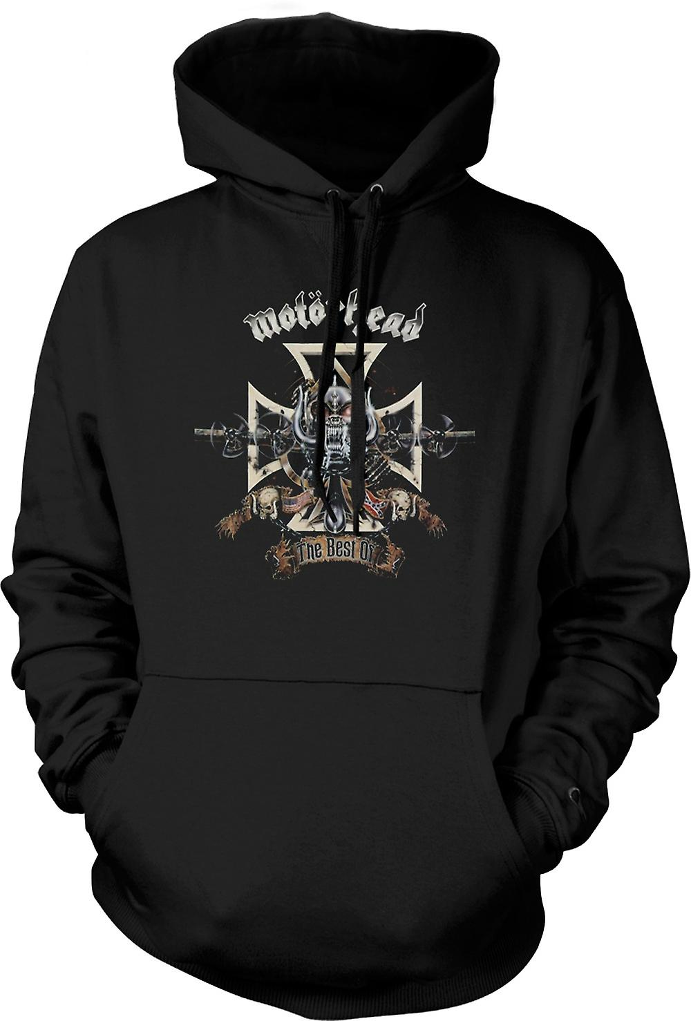 Mens Hoodie - Motorhead - Best Of Rock Metal