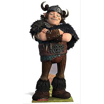 Snotlout from How To Train Your Dragon 2 Cardboard Cutout / Standee / Standup