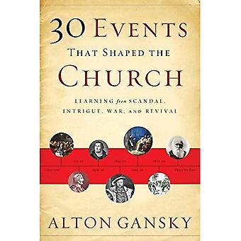 30 händelser som formade kyrkan: lärande från skandal, intriger, krig och väckelse