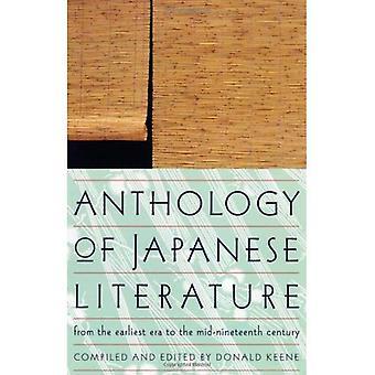 Anthologie de la littérature japonaise, depuis les premiers temps pour le milieu du XIXe siècle (Collection UNESCO de œuvres représentatives)