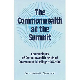 Commonwealth at the Summit: Communiques of Heads of Government Meeting 1944-86