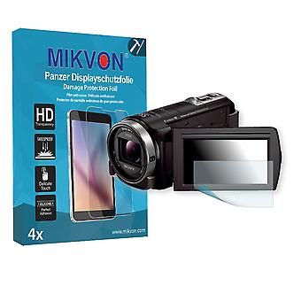 Sony HDR-CX320E Screen Protector - Mikvon Armor Screen Protector (Retail Package with accessories)