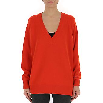 Givenchy Red Wool Sweater