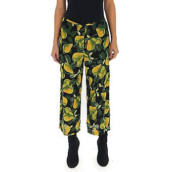 Marc Jacobs Green Viscose Pants