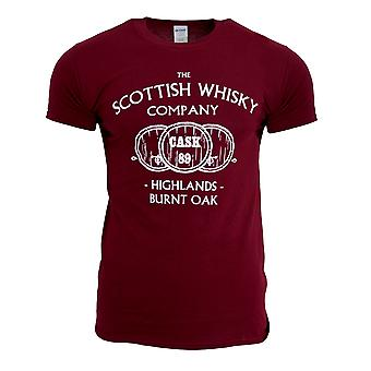 Mens The Scottish Whisky Company T-Shirt