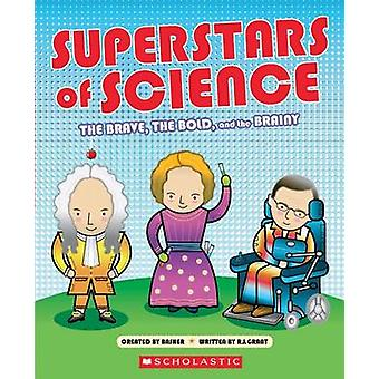 Superstars of Science by R G Grant - Simon Basher - 9780545826273 Book