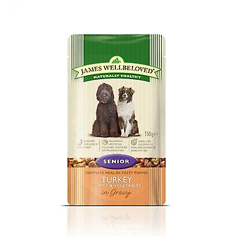 James Wellbeloved Senior Food torebek z Turcji & ryżu - 1 x 150g