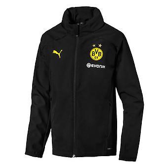 2019-2020 Borussia Dortmund Puma regenjas (zwart)-Kids