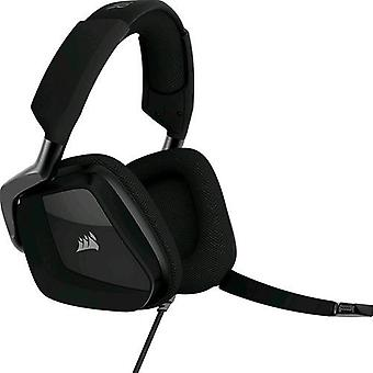 Corsair void pro carbon gaming headset with microphone usb color carbon connector