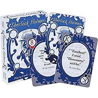 Playing Card - Sherlock Holmes Quotes New 52583