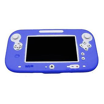 Protective silicone cover for wii u gamepad soft bumper cover - royal blue