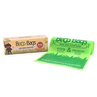 Beco Bags Eco Friendly Plastic Dog Poop Bags With Dispenser Roll