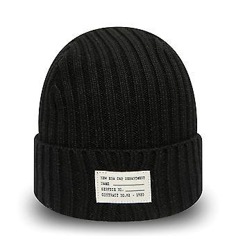 Uusi aika kausi neuloa talvi hattu RANNEKE katsella NEULOA pipo-musta