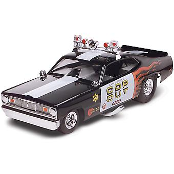 Plastic Model Kit Plymouth Duster Cop Out Car 1 24 85 4093